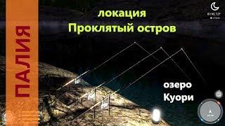 На что клюет в рыбном месте палия
