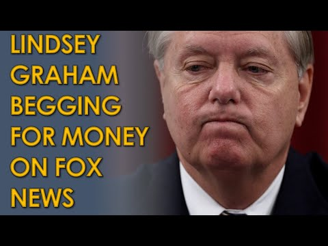"""Lindsey Graham BEGS to Hannity for Fundraising Money on Fox News: """"they're killing me moneywise"""""""