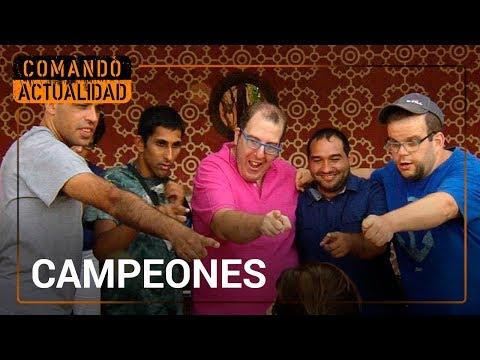 Watch videoCampeones, Comando Actualidad