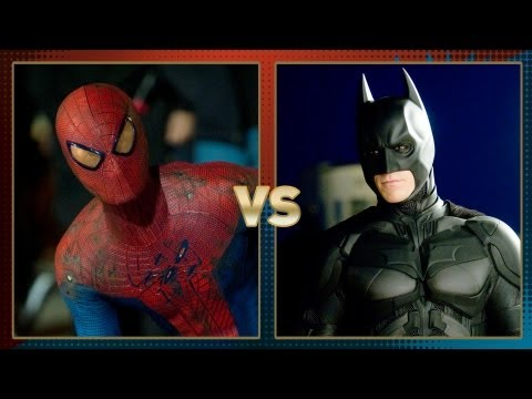 Spider Man vs Batman: Fanboy Faceoff