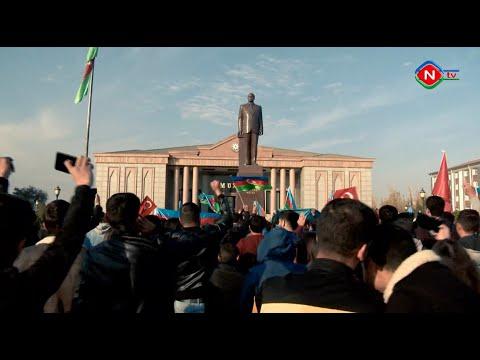 Naxçıvanda Qarabağ günləri 10.11.2020