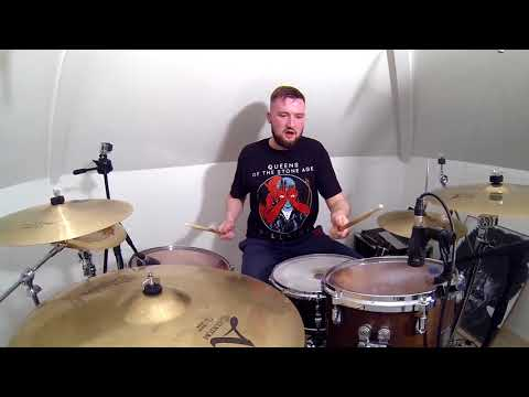 Queens Of The Stone Age - Head Like A Haunted House (Drum Cover)