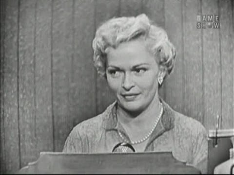 What's My Line? - Justice William O Douglas; Mary Healy; Peter Lind Hayes [panel] (May 6, 1956)