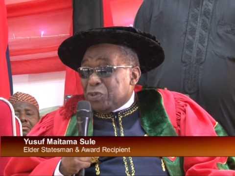 Nigeria's Former Permanent Rep. To UN,Yusuf Maitama Sule Raises Hope On Nigeria