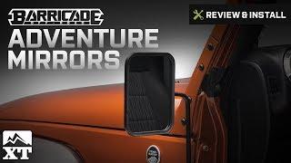 Jeep Wrangler Barricade Adventure Mirrors (1987-2016 YJ, TJ & JK) Review & Install