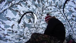 Зимняя китайская палатка для рыбалки