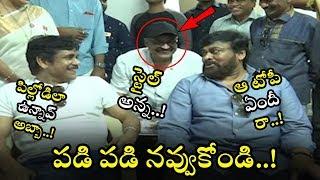See How Nagarjuna & Chiranjeevi Made Fun On Nagababu Cap || MAA Elections 2019 || NSE
