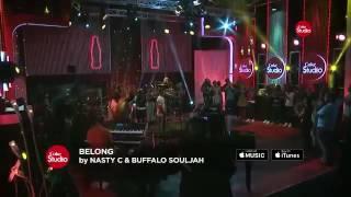 Nasty C ft Buffalo Soldier-Belong [Live on CokeStudio]