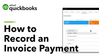 How to record an invoice payment