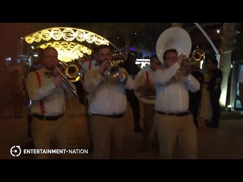 Brass Pack - Live Performance in Egypt