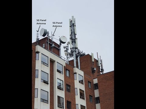 Mega Cellular Installation in Residential Area--Canada