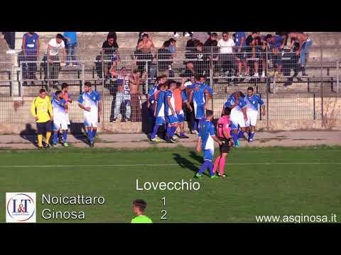 Preview video NOICATTARO-GINOSA 1-2 (Cappielo e Lovecchio)E il Ginosa mette tutti in fila