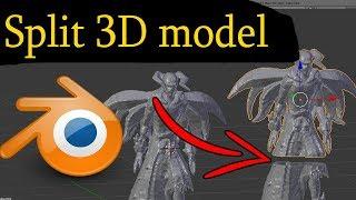 Blender - Splitting 3D Model Into Parts For 3D Printing
