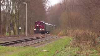preview picture of video 'Döllnitzbahn Bahnhofsdurchfahrt Thalheim Oschatz'