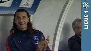 Ibrahimovic And Cavani's Fantastic Goals - PSG - Bastia -2013/2014