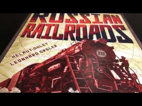 Russian Railroads Teach and Playthrough 3 player