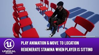 Unreal engine 4 guide steep stairs walkable angle most popular ue4 blueprint move to location play animation regenerate stamina when is sitting malvernweather Gallery