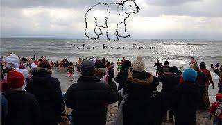 preview picture of video '2015 Ajax Polar Bear Swim'