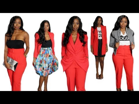 HOW TO LOOK BOUJEE ON A BUDGET| One Suit Different Ways ft Forever21, Fashion Nova, Zara, Asos +