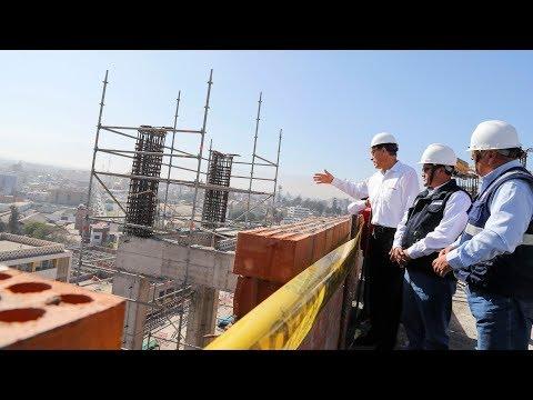 Inspección del hospital Hipólito Unanue de Tacna