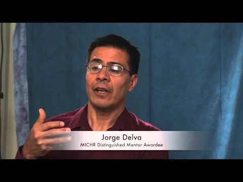 Jorge Delva - MICHR Distinguished Mentor Awardee