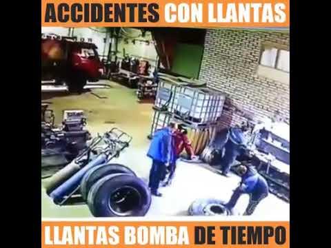 BOMBA EN LA GUERRA DE LOS NEUMATICOS.