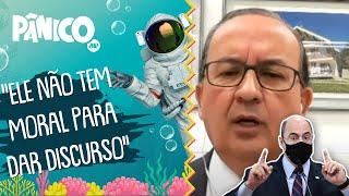 Jorginho Mello comenta sobre treta com Witzel na CPI da Covid-19