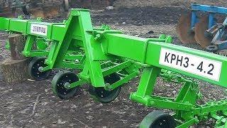 """Пополнение. Новенький культиватор КРН 4,2 от сельхозпризводителя """"ЗЕММАШ"""" #СельхозТехника ТВ"""