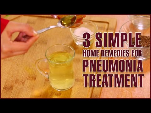 Video 3 Simple Home Remedies For PNEUMONIA TREATMENT