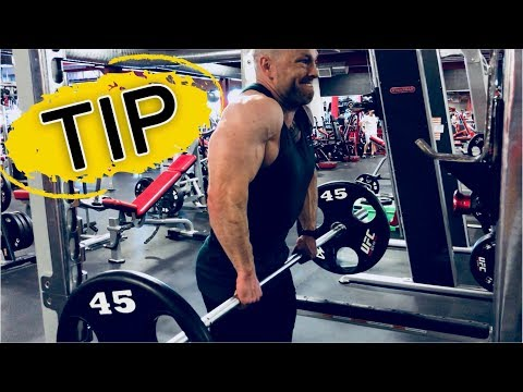 3 TRAP Tips - Barbell Shrugs