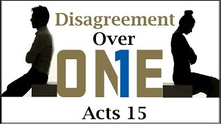 #The Disagreement Over One