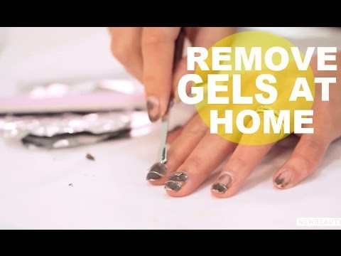 How to Remove Gel Nails at Home | NewBeauty Tutorial