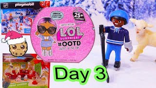 Day 3 ! LOL Surprise - Playmobil - Schleich Animals Christmas Advent Calendar - Cookie Swirl C