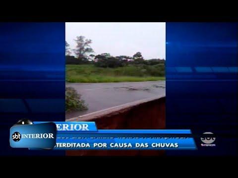 Ponte cede e prejudica moradores do bairro rural Água Limpa, em Araçatuba