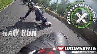 Raw Run Kozakov Challenge 2017 | MuirSkate Longboard Shop
