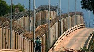 preview picture of video 'Valla Melilla y Ceuta / Ceuta and Melilla Border Fences [IGEO.TV]'
