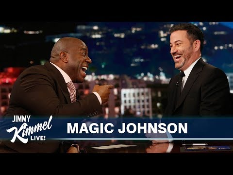 Magic Johnson on Kobe Bryant, The Lakers & Vacations with Jimmy Kimmel