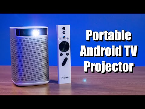 Everything the XGIMIMoGo Pro Portable Android TV Projector Can Do
