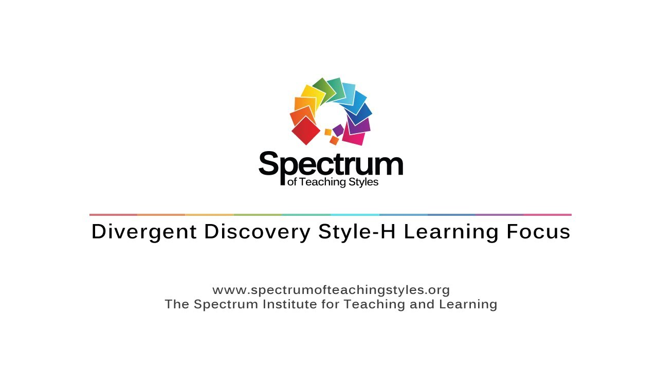 Divergent Discovery Style-H Learning Focus's thumbnail