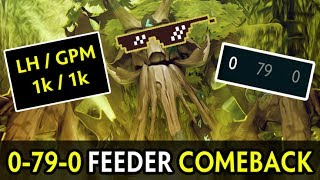 0-79-0 feeder comeback — 1k GPM mid Treant + support god