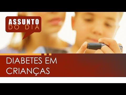 Reservar como ter uma criança com diabetes mellitus