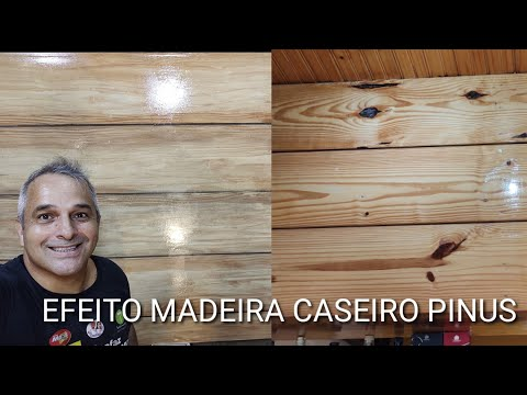 Efeito madeira Pinus