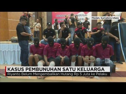 Ini Motif Pembunuhan Satu Keluarga di Medan