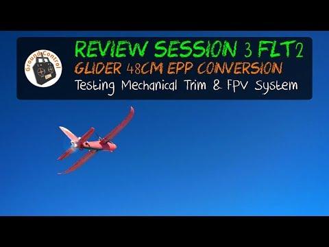 $4 Chuck Glider RC Conversion - Session 3 Test Flight 2 - It\'s Fast ;-)