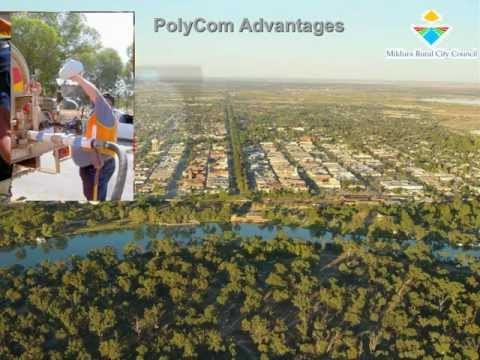 Examples of ground improvement with PolyCom