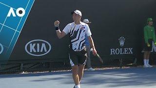 Lajovic v Robert match highlights (1R) | Australian Open 2017