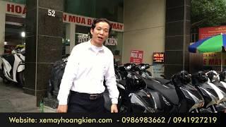 Tham quan khu vực xe máy cũ lớn nhất và uy tín nhất Hà Nội