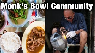 Monk's Bowl Village (Ban Baat) and Old School Lunch in Bangkok