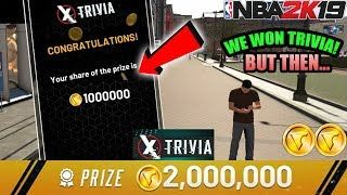 NBA 2K19 WE WON TRIVIA AND YOU WON