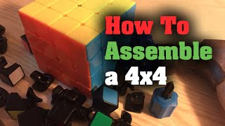 How to Assemble a 4x4 Rubik's Cube (KungFu CangFeng)